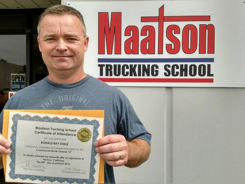Maatson Trucking School Trucking School Ventura 4475 Dupont